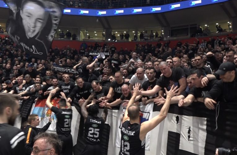 Pobeda Partizana i rekord ABA lige