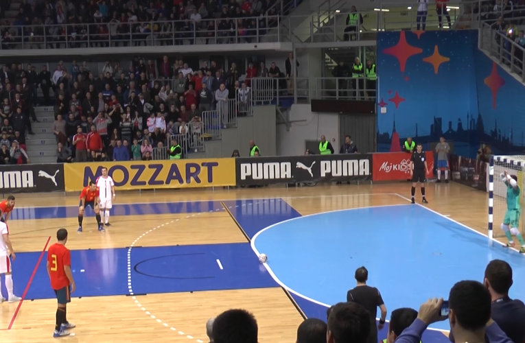 Futsal selekcija Srbije četvrta na rang listi UEFA