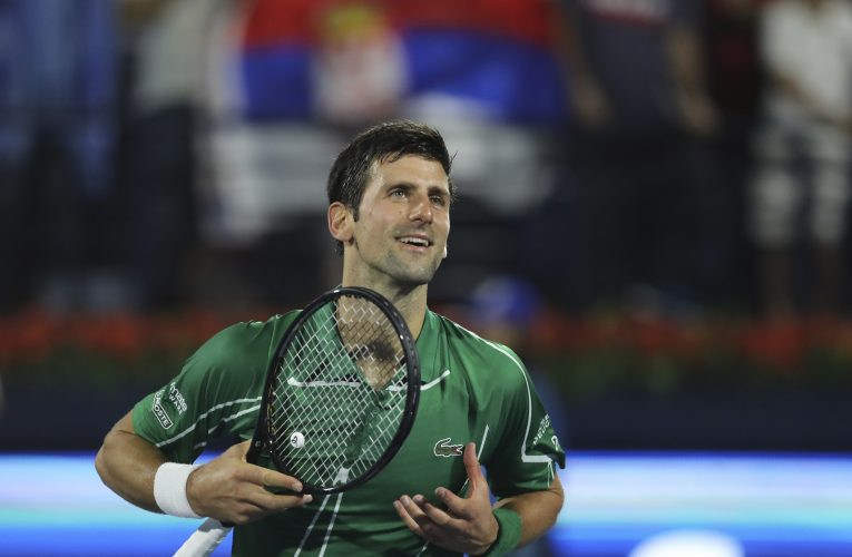 Uspešan start Đokovića na turniru u Dubaiju!