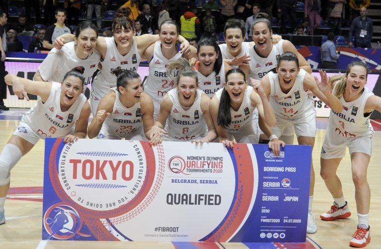 Košarkasice Srbije na osmom mestu FIBA liste