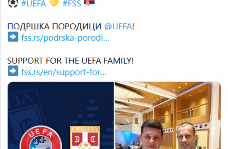 FSS podržava UEFA-u